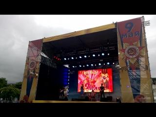 """Группа """"Таврика"""". 9 мая 2018. Ялта. 10-й наш десантный батальон. Музыканты на праздник в Крыму, Сочи, Москве."""