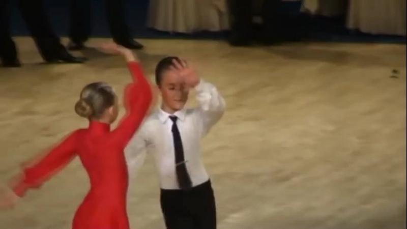 Красивый танец Рубма Дети 2 открытый класс Гордиевский Илья и Никитина Екатерина ⭐
