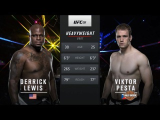 UFC 216 Free Fight: Derrick Lewis vs Viktor Pesta
