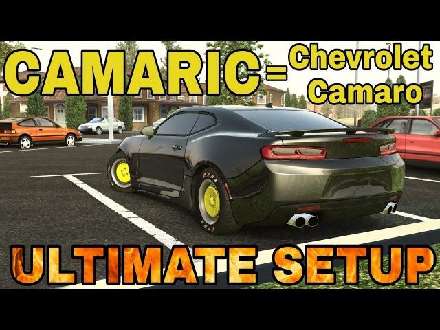 Camaric Ultimate Setup Test Drive Chevrolet Camaro CarX Drift Racing