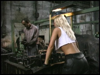 Actiongirls Volume 1 Excerpt from Prisoner of Hell starring Silvia saint
