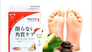 Педикюрные носочки Baby Foot и ножки, как у младенца!