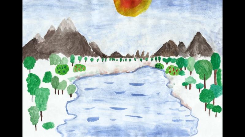 Бесконечный мир художник Зимина Юля