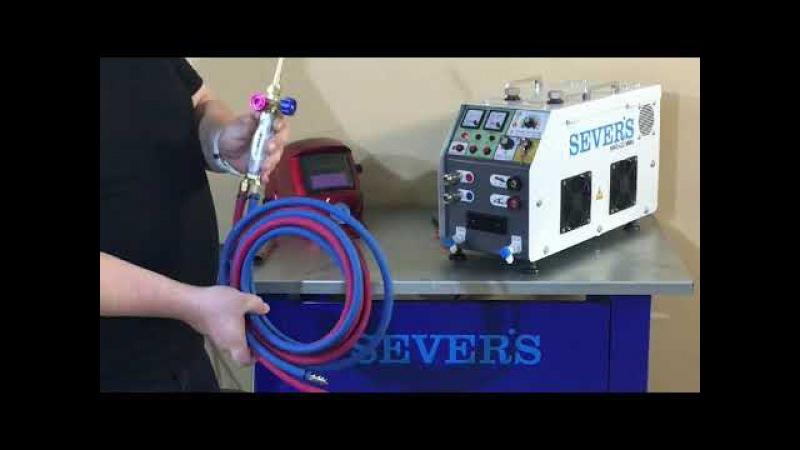 SEVER'S HHO G3 MMA universal hydrogen welding station 2 in 1