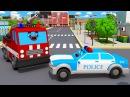 Мультики для детей СУПЕР СКОРОСТЬ Полицейская Машина Пожарная Машинка Мультфил