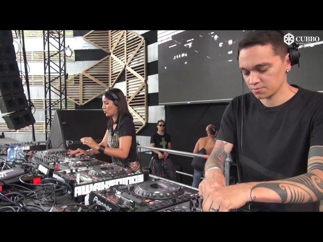 HardTechno Lukas Fernanda Martins 4decks @ Awakenings Festival NL JUN2015 (VideoSet)