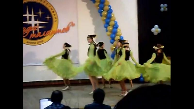 Татарский шуточный танец Чаепитие Анс танца Виктория