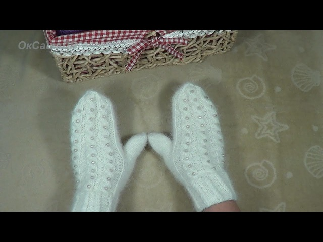 Варежки спицами Knitted mittens