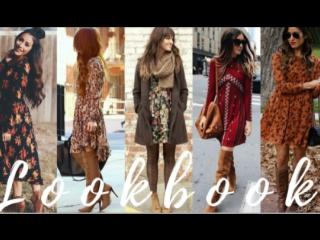 2017 fashionable fall dresses lookbook