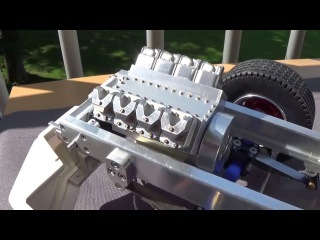 Rc Trucks High detailed Scania T143H #6 (chassis + V8 engine block so far 1)