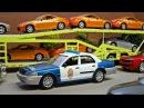 Мультики про машинки все серии подряд - Полицейская машина и Эвакуатор в Городе