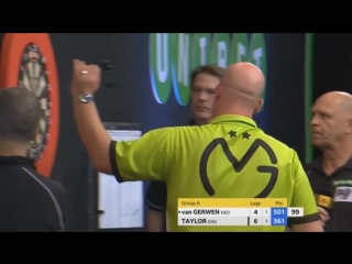 Michael van Gerwen vs Phil Taylor (Champions League of Darts 2017 - Group A)