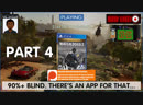 Can we hack it? Yes we can! It's Watch Dogs 2 90% Blind | Part 4