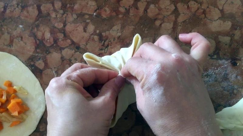 Плетение самсы