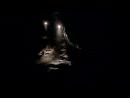 в Новоафонской пещере,находящейся под склоном Иверской горы,справа-мостик (Абхазия.сентябрь 2018).