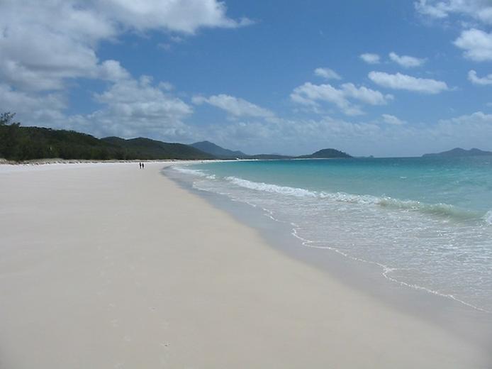 Белый Рай. Один из лучших пляжей Австралии, изображение №5