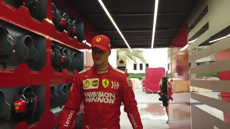 Back to the emotions of F1 testing days in Sakhir