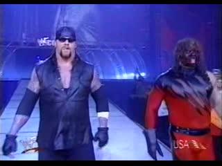 WWF Raw Is War  - Kurt Angle  Triple H vs Kane  Undertaker