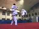 540 kick teakwondo reverse kick spin kick Teaching 540後旋 空中三腳迴旋踢 教學
