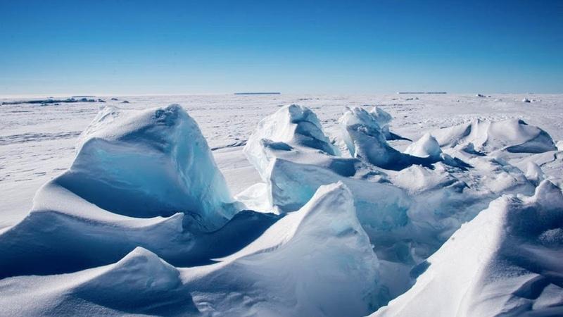 Неожиданно Лед Антарктиды может плавиться из за радиации