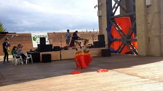 Tiare Maohi at Green Village  Maohi tribe  Tahitian dance in Russia