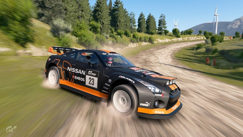 Gran Turismo™SPORT Nissan GT R Gr B Rally Car Sardegna Time Attack 1 18 273