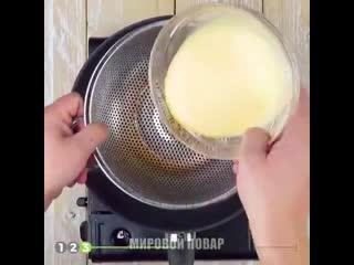 Идеальный омлет к завтраку !