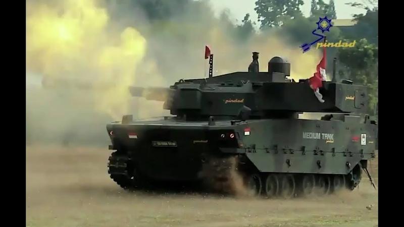 Pindad Release Video Saat Uji Tembak Tank Medium