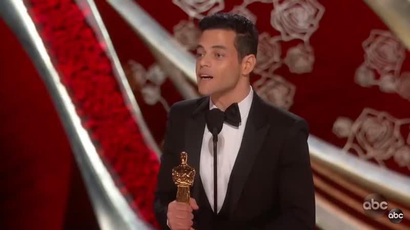 Rami Malek's Oscar speech