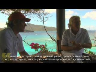Интервью с Ричардом Бренсоном. (Олег Тиньков. Бизнес секреты)