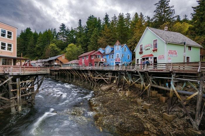 Завораживающие пейзажи дикой природы Аляски