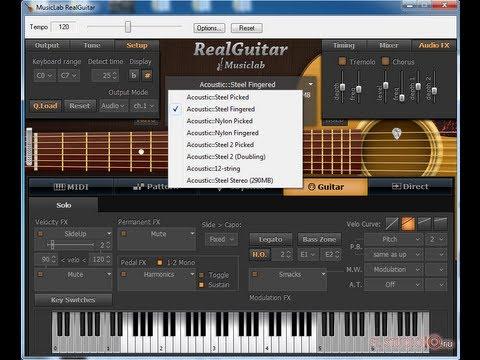 Как Создать Рок в FL Studio Часть 2 - Акустическая гитара(MusicLab - RealGuitar 3)