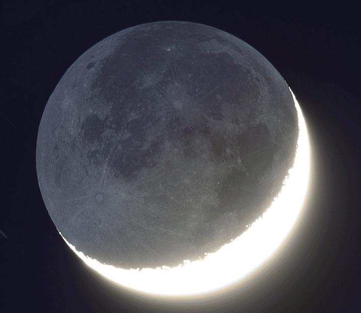 Днем, луна в картинках анимация