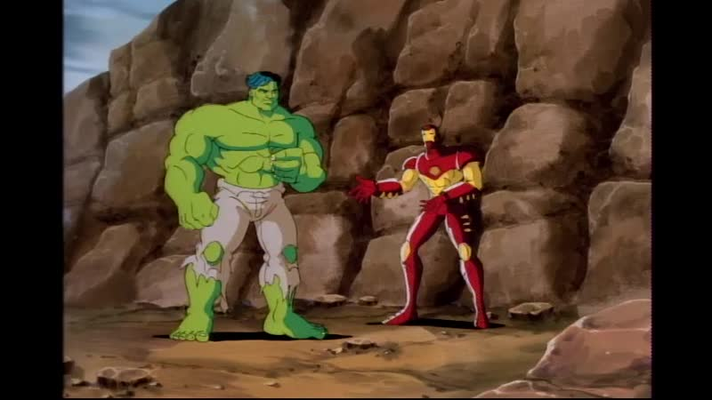 Сезон 02 Серия 11: Битва с Халком | Железный человек (1994-1996) / Iron Man | Hulk Buster