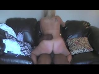 Белая блондинка получает много черного (bbc milf bbw amateur mature)