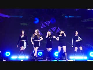 180622 Brave Girls - High Heels @ KFN K-Force Special Show / Consolation Train