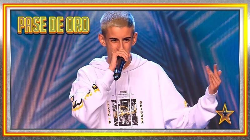¡El Cejas trae EL PIMPIN para llevarse un PASE de ORO! | Audiciones 5 | Got Talent España 2019