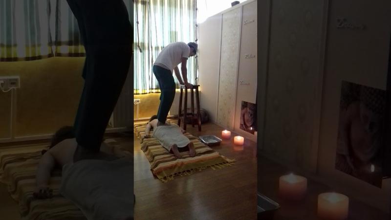 Kalari Marma Padaghata Massage
