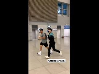 190701 exo lay yixing @ incheon airport