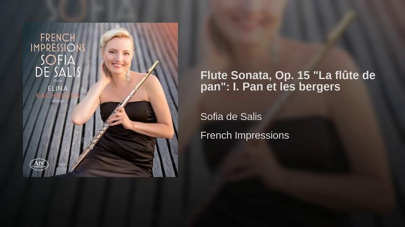 Flute Sonata Op 15 La flûte de pan I Pan et les bergers