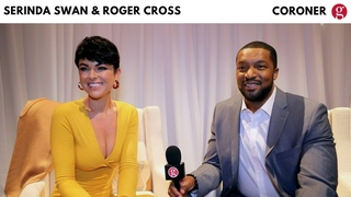 Serinda Swan & Roger Cross   CBC's Coroner