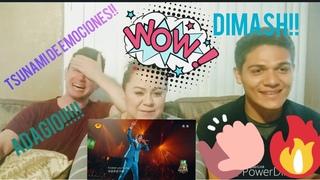 My sister and her friend react to Dimash(Adagio) Mi hermana y su amigo reaccionan Dimash - Adagio