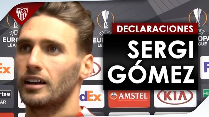 Sergi Gómez: Nos queda la vuelta para ir a muerte a por la eliminatoria