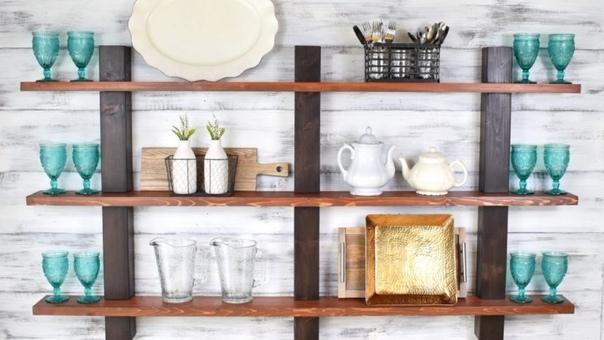 kitchen wall shelves - HD1500×1077