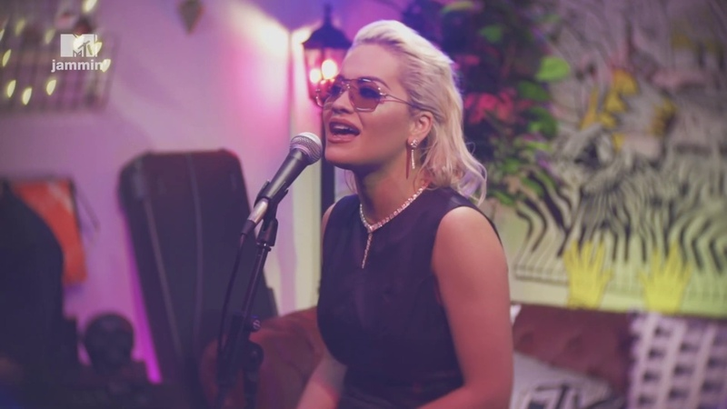 Rita Ora performs a stripped down version of Only Want You MTV Jammin'