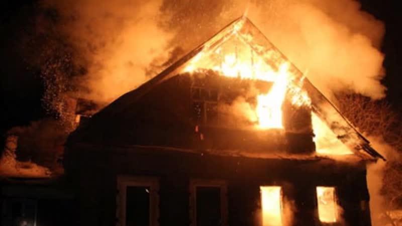 Двое детей погибли в пожаре в Новосибирской области