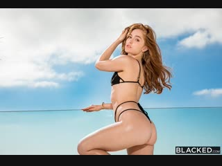 Рыженькая на черном члене jia lissa the real thing doggystyle, blowjob, facial, riding, first interracial russian porno
