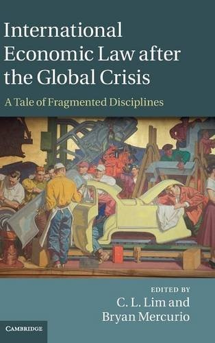 International Economic Law after the Global Crisis A Tale of Fragmented Disciplines