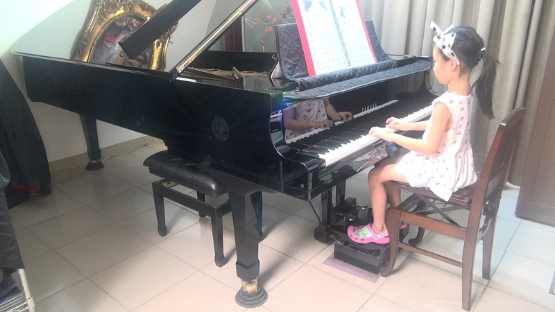 (張淑媛之女-李瑄芮 5y) (2017/07/18) (快樂城堡幼稚園)F. CHOPIN, C sharp minor,(Fantaisie-Impromptu op.66)蕭邦幻想即興