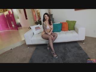 Ivy Lebelle - Buxom Ivy LeBelle Has An Orgasmic Experience (10.02.2018)  #Brunette, #Fishnet, #Hairy #pussy, #Masturbation, #Org